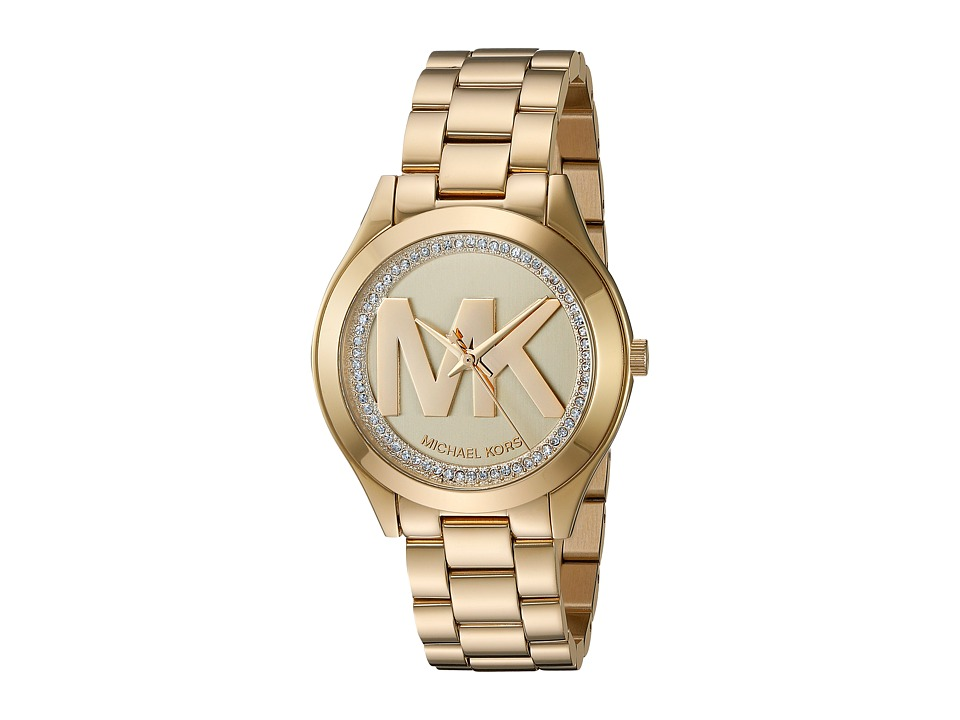 Michael Kors - MK3477 - Mini Slim Runway (Gold) Watches