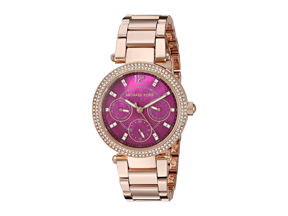 Michael Kors - MK6403 - Mini Parker (Rose Gold) Watches