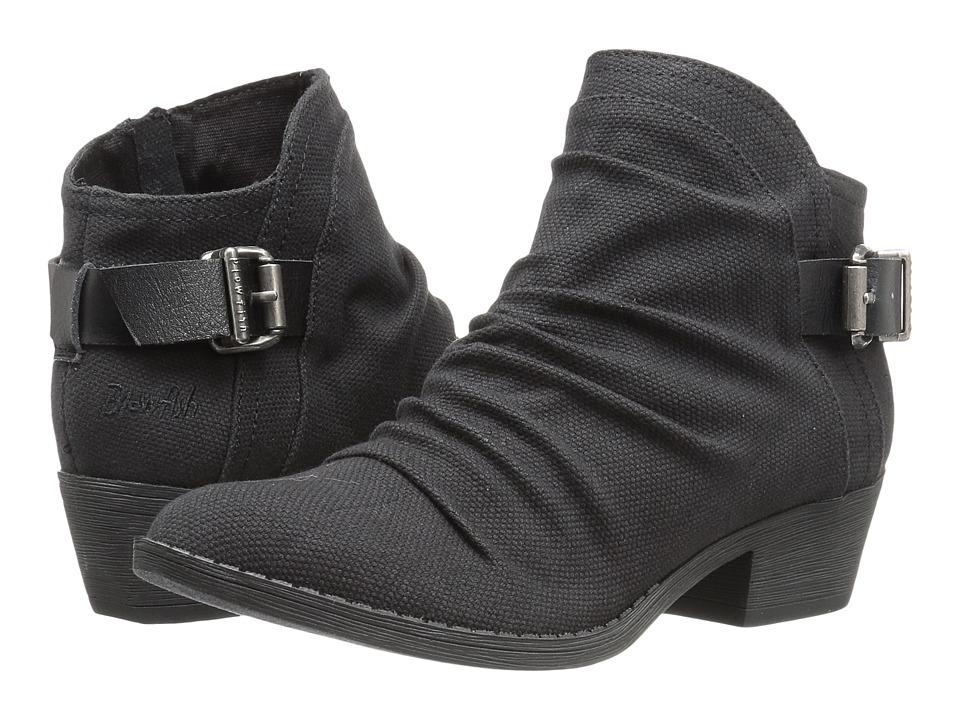 Blowfish - Seastie (Black Rancher Canvas/Dyecut PU) Women's Boots