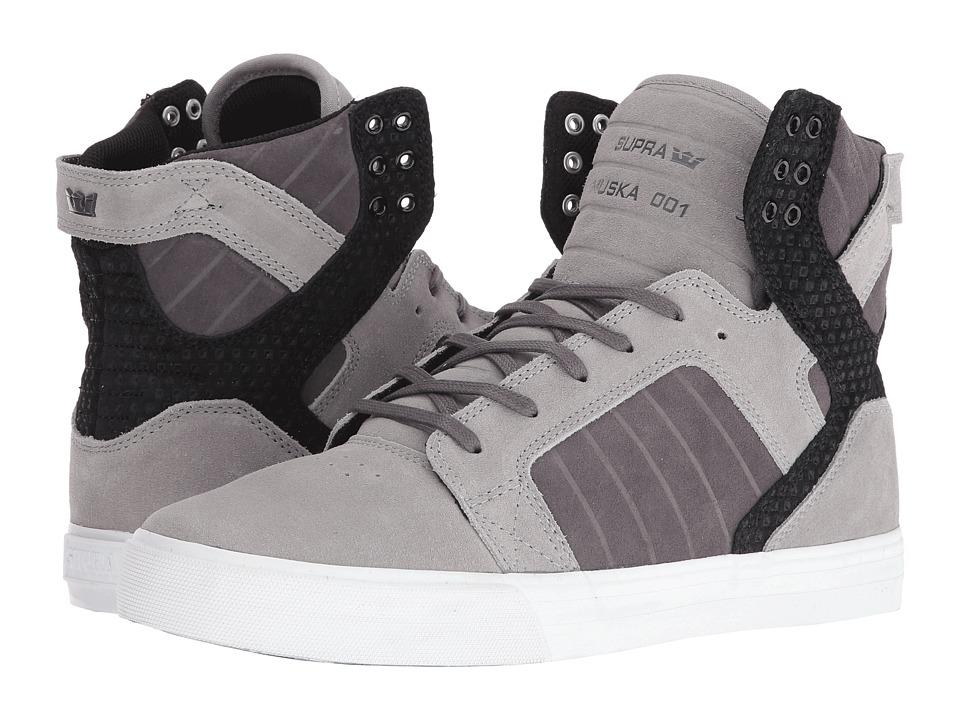 Supra - Skytop (Grey Gradient/White) Men's Skate Shoes