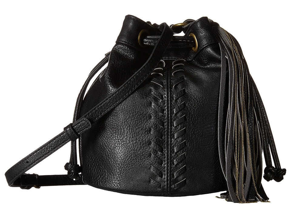 CARLOS by Carlos Santana - Sadie Mini Drawstring (Black) Drawstring Handbags