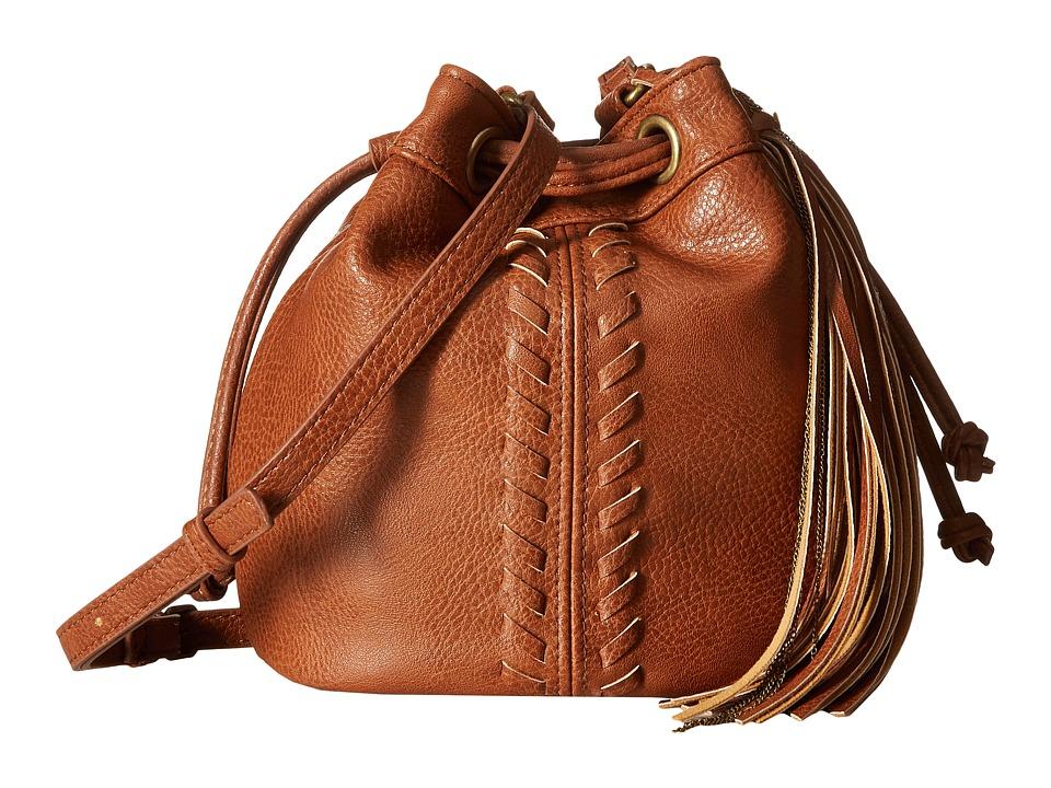 CARLOS by Carlos Santana - Sadie Mini Drawstring (Cognac) Drawstring Handbags