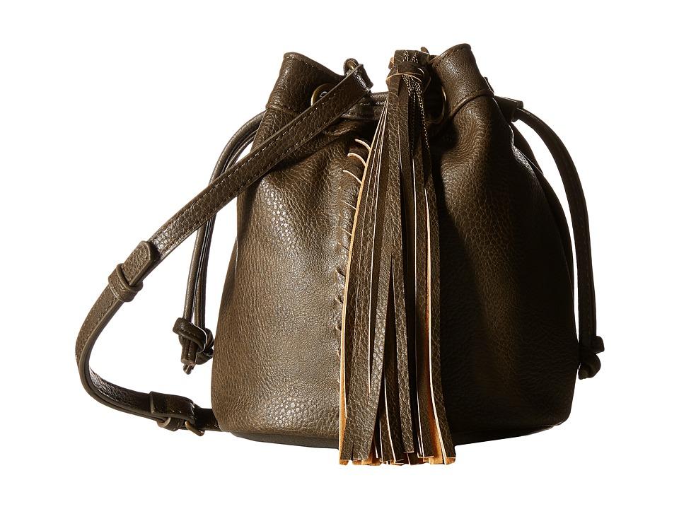 CARLOS by Carlos Santana - Sadie Mini Drawstring (Olive) Drawstring Handbags