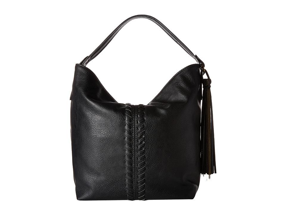 CARLOS by Carlos Santana - Sadie Bucket Bag (Black) Handbags