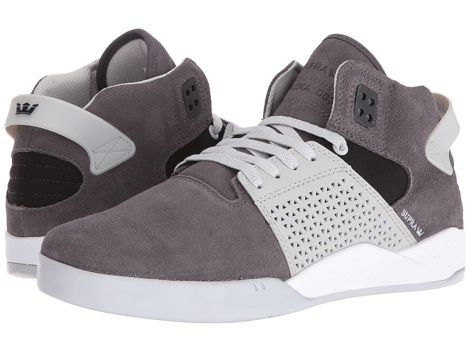Supra - Skytop III (Grey Gradient/White) Men's Skate Shoes