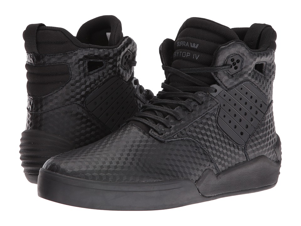 Supra - Skytop IV (Black/Black) Men's Skate Shoes
