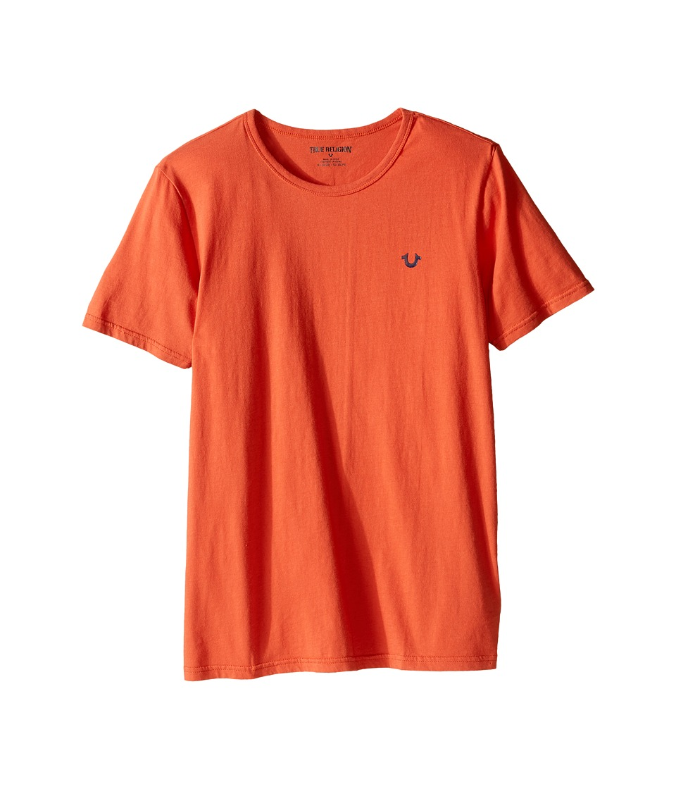 True Religion Kids - Branded Logo T-Shirt (Big Kids) (Burnt Orange) Boy's T Shirt