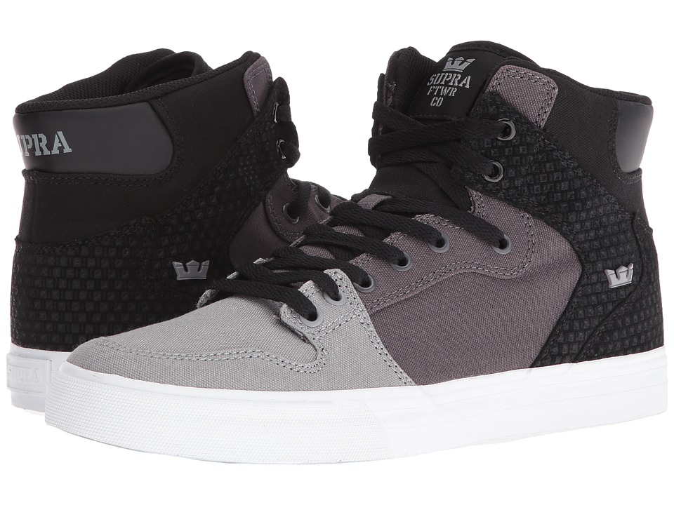Supra - Vaider (Grey Gradient/White) Skate Shoes