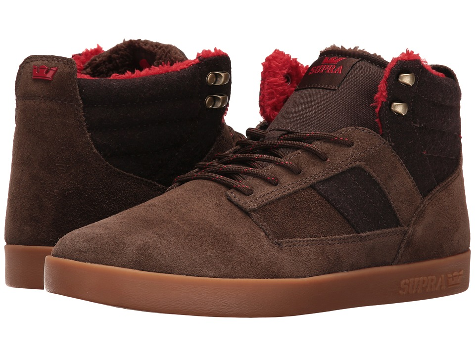 Supra - Bandit (Brown Suede/Gum) Men's Skate Shoes