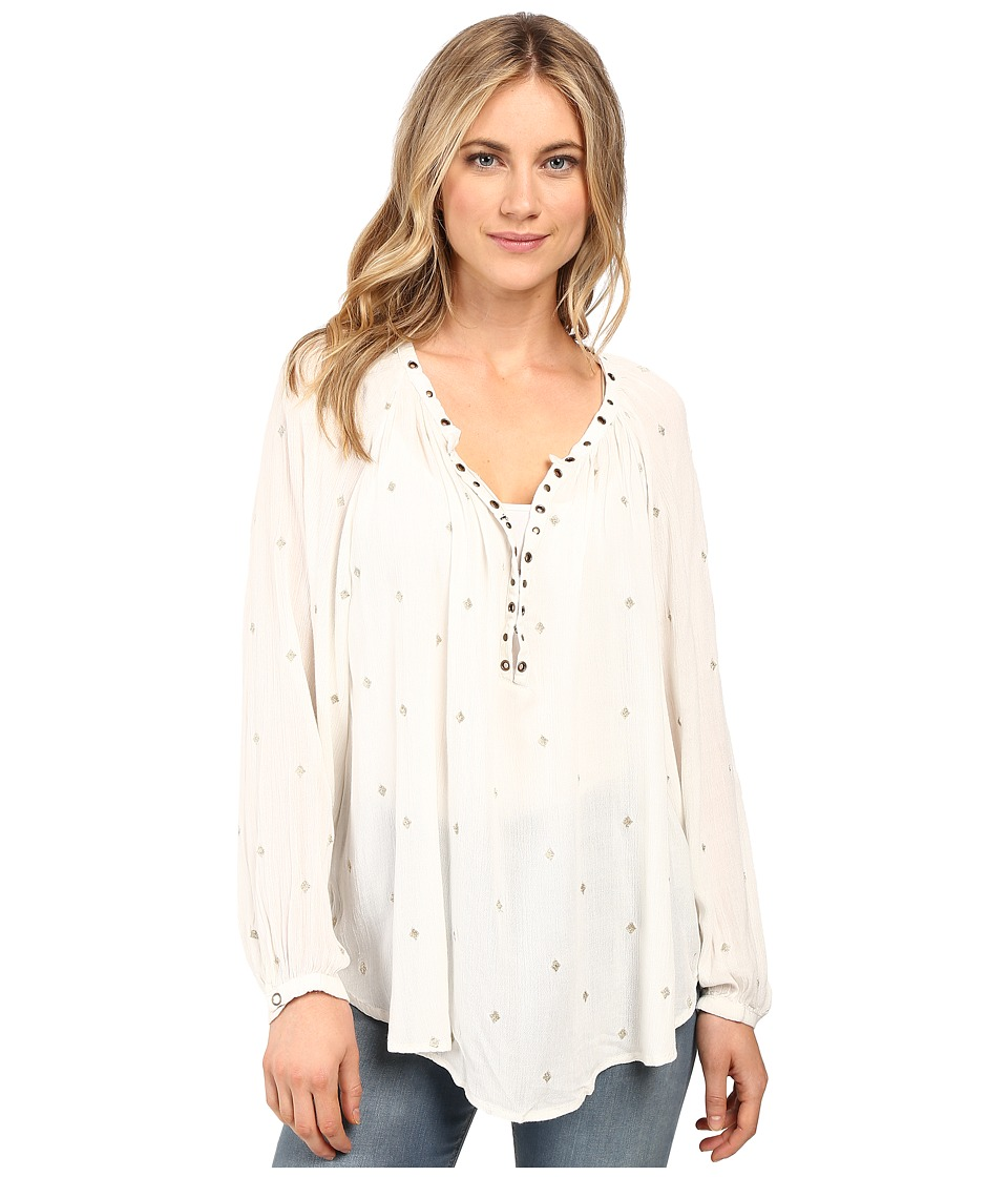 Amuse Society - Ryden Woven Top (Casa Blanca) Women's Clothing