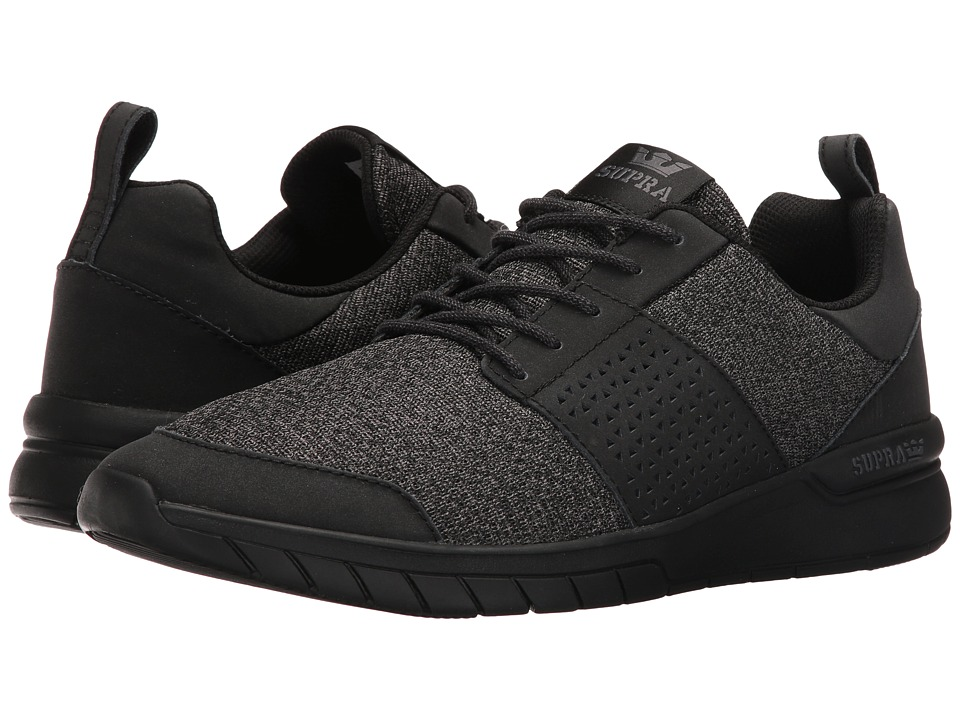 Supra - Scissor (Black/Black) Men's Skate Shoes
