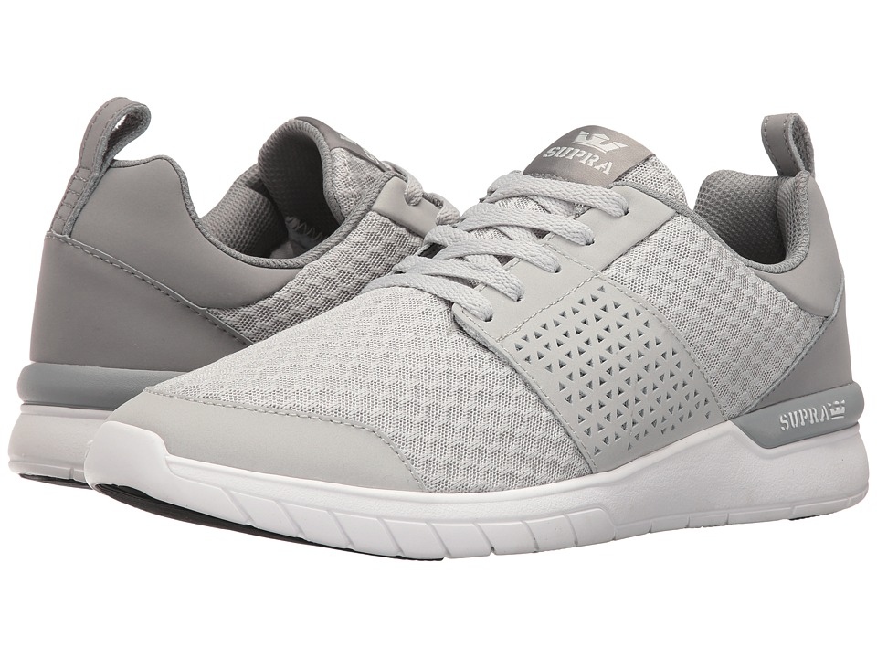 Supra - Scissor (Light Grey/Black/White) Men's Skate Shoes