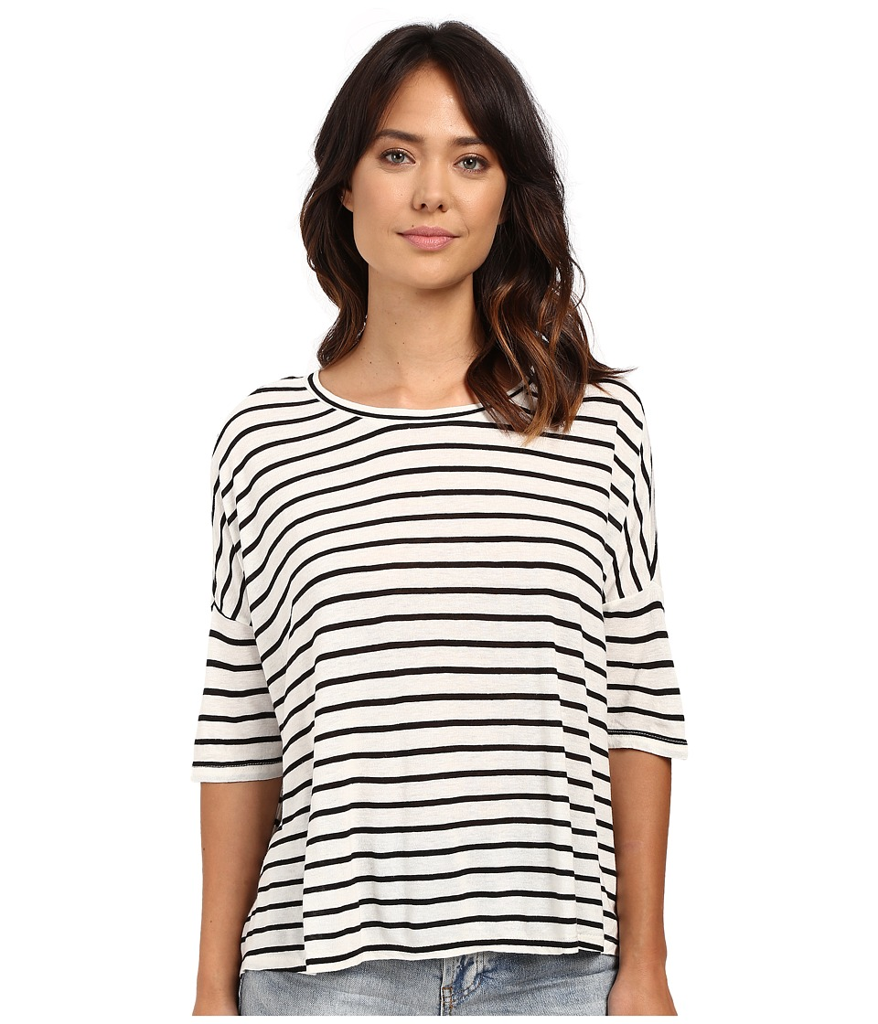 Amuse Society - Avery Knit Top (Stripe) Women's Clothing