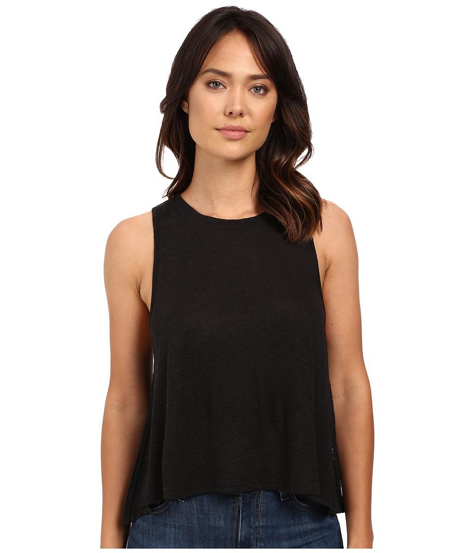Amuse Society - Capri Knit Top (Black) Women's Clothing