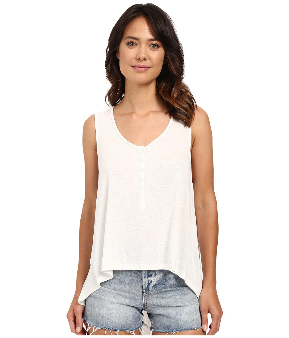 Amuse Society - Farra Knit Tank Top (White) Women's Sleeveless
