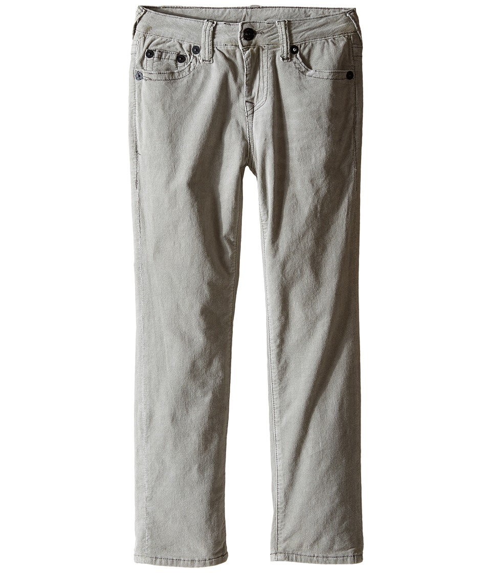 True Religion Kids - Geno Corduroy Pants (Toddler/Little Kids) (Cement Grey) Boy's Casual Pants