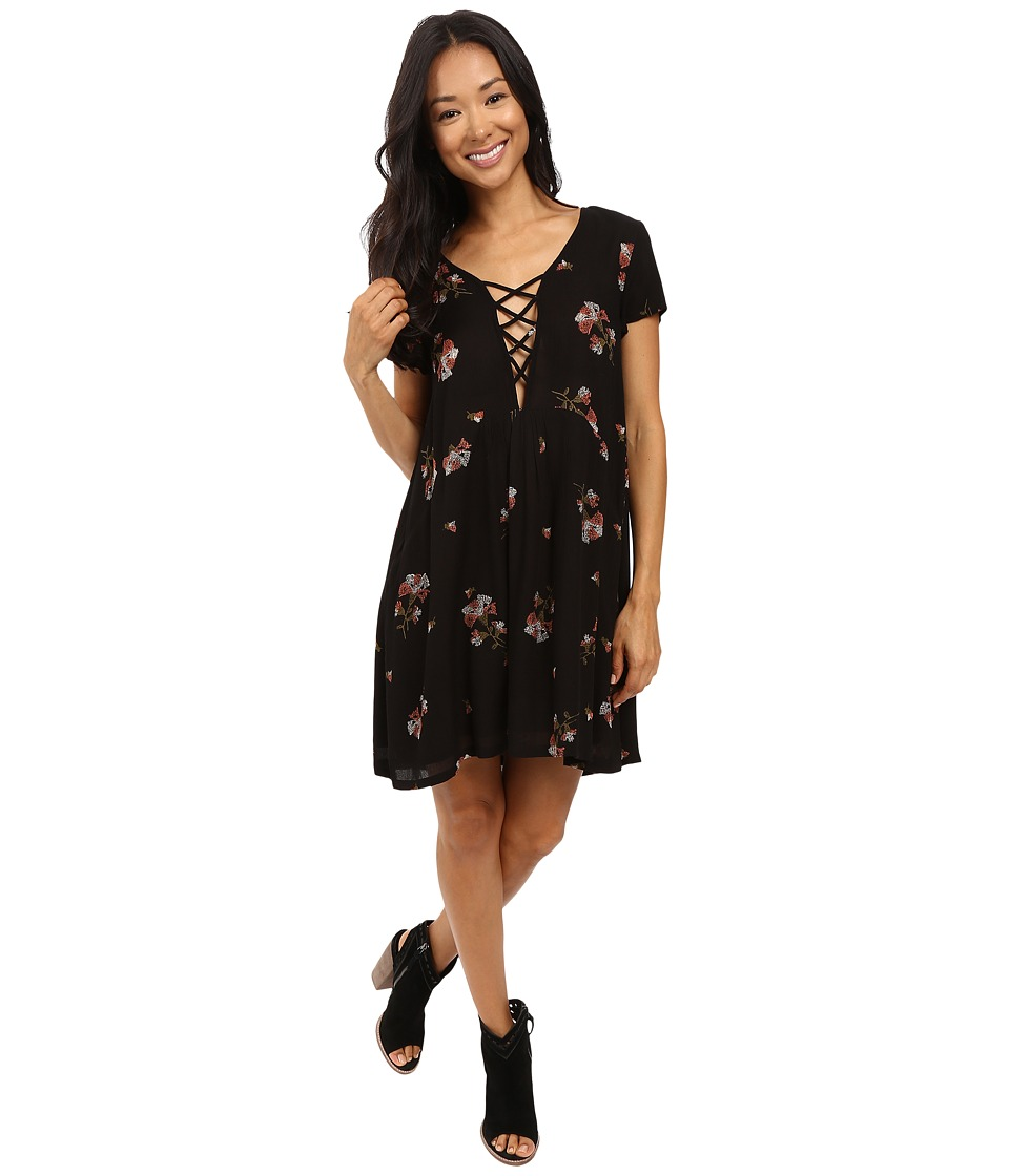 Amuse Society - Ludlow Dress (Black) Women's Dress