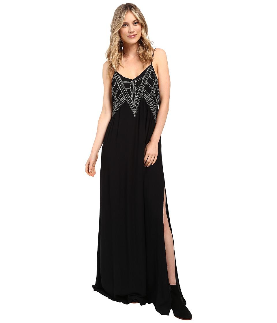 Amuse Society Emmerson Maxi Dress (Black) Women