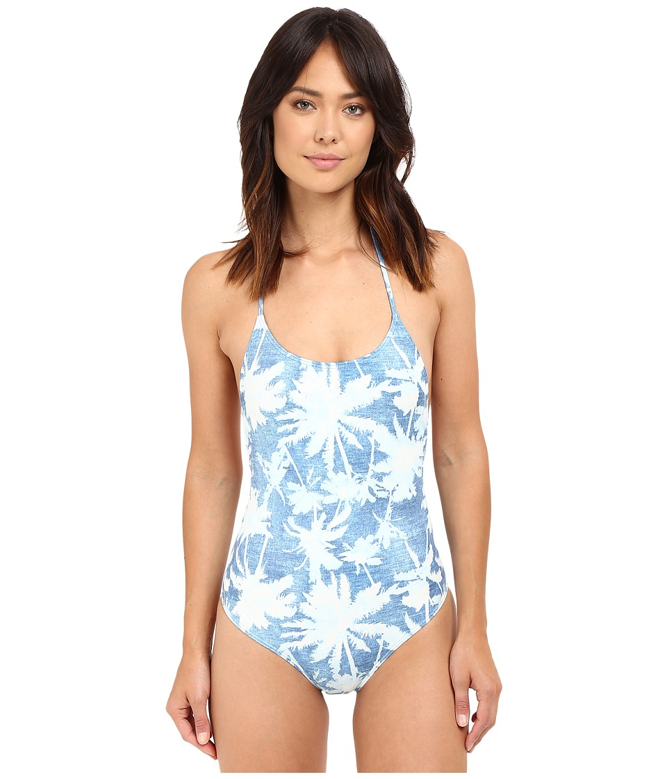 Billabong - Indigo Dreams One-Piece (Multi) Women's Swimsuits One Piece