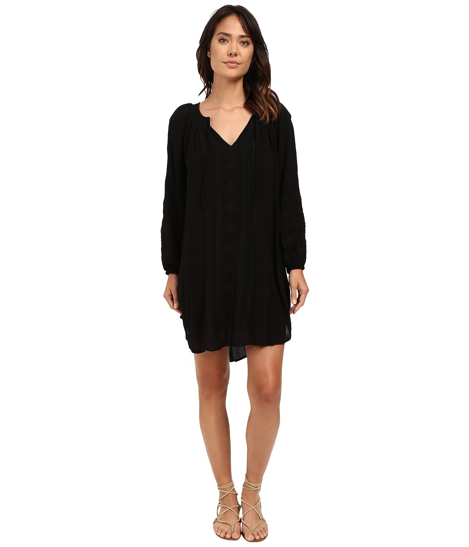 Amuse Society - Finley Dress (Black) Women's Dress