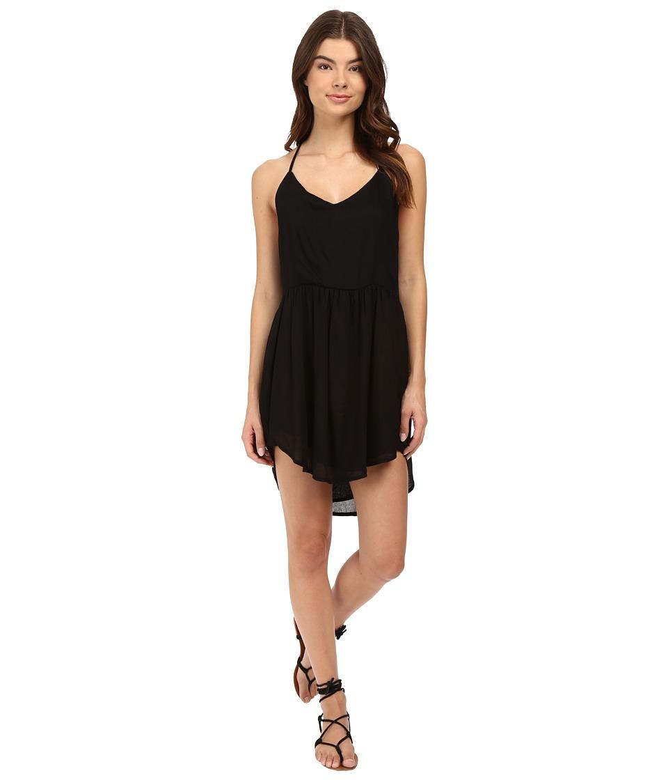 Amuse Society - Kari Dress (Solid Black) Women's Dress