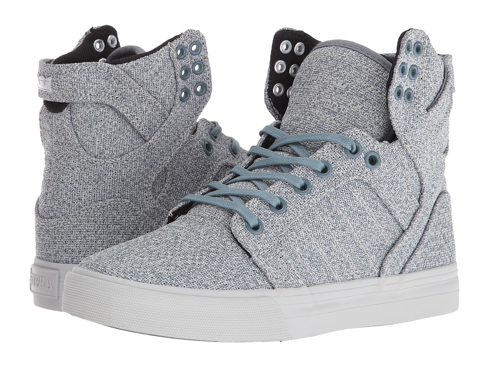Supra - Skytop (Slate Blue/Light Grey) Women's Skate Shoes