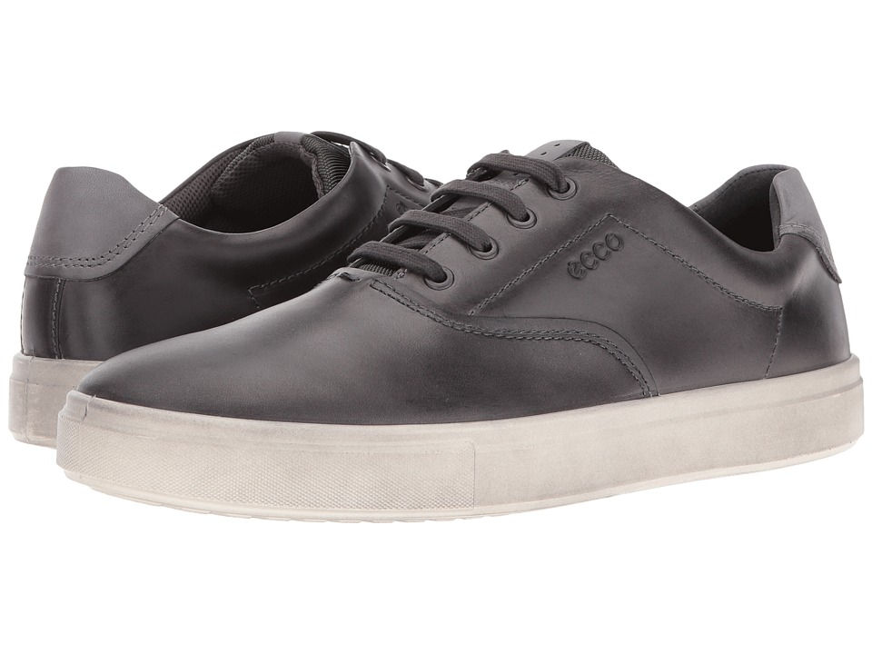 ECCO Kyle Retro Sneaker (Moonless/Titanium) Men