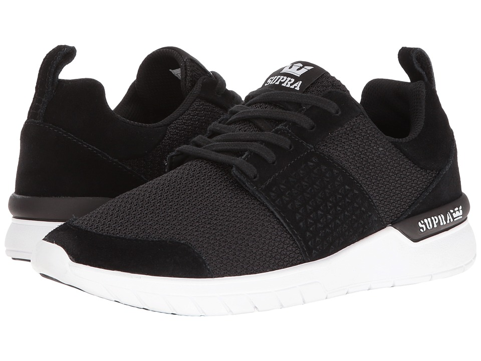 Supra - Scissor (Black Suede/White) Women's Skate Shoes
