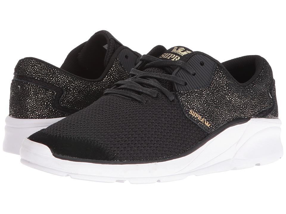 Supra - Noiz (Black/Gold/White) Women's Skate Shoes