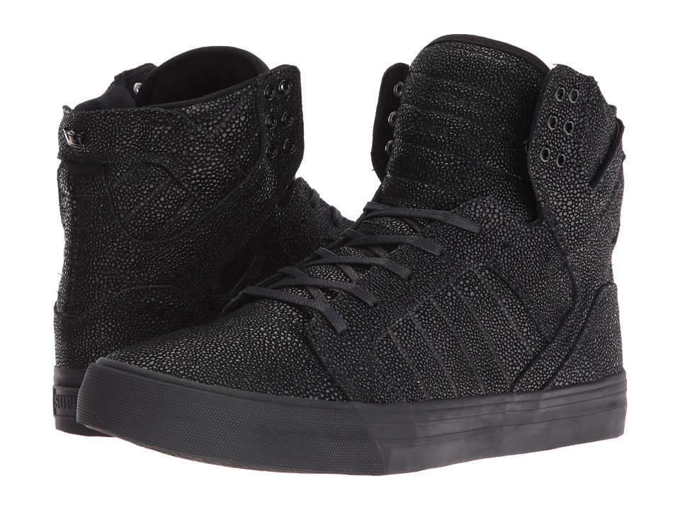 Supra - Skytop HF (Black Harmonic/Black) Men's Skate Shoes