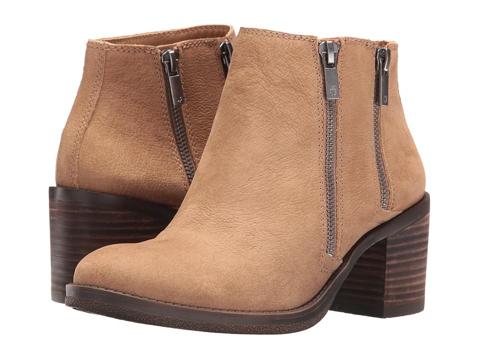 Lucky Brand - Roquee (Sesame) Women's Zip Boots