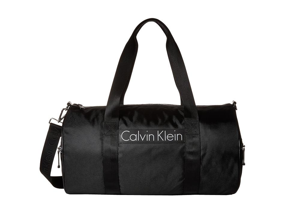 Calvin Klein - CKP Ballistic Duffel (Black) Duffel Bags
