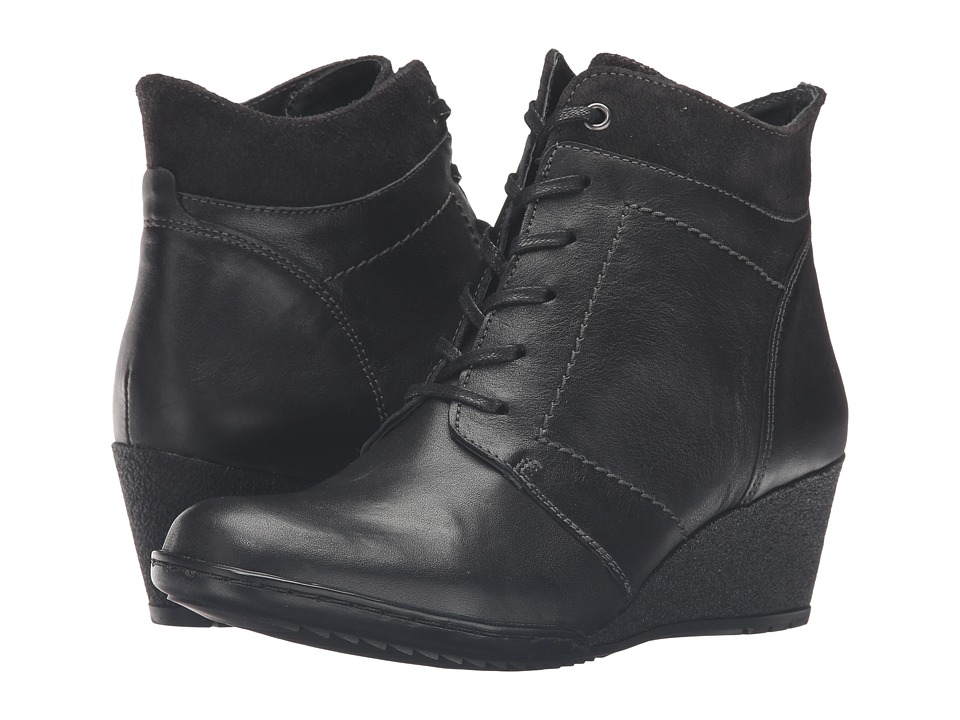 Spring Step - Sem (Black) Women's Dress Lace-up Boots
