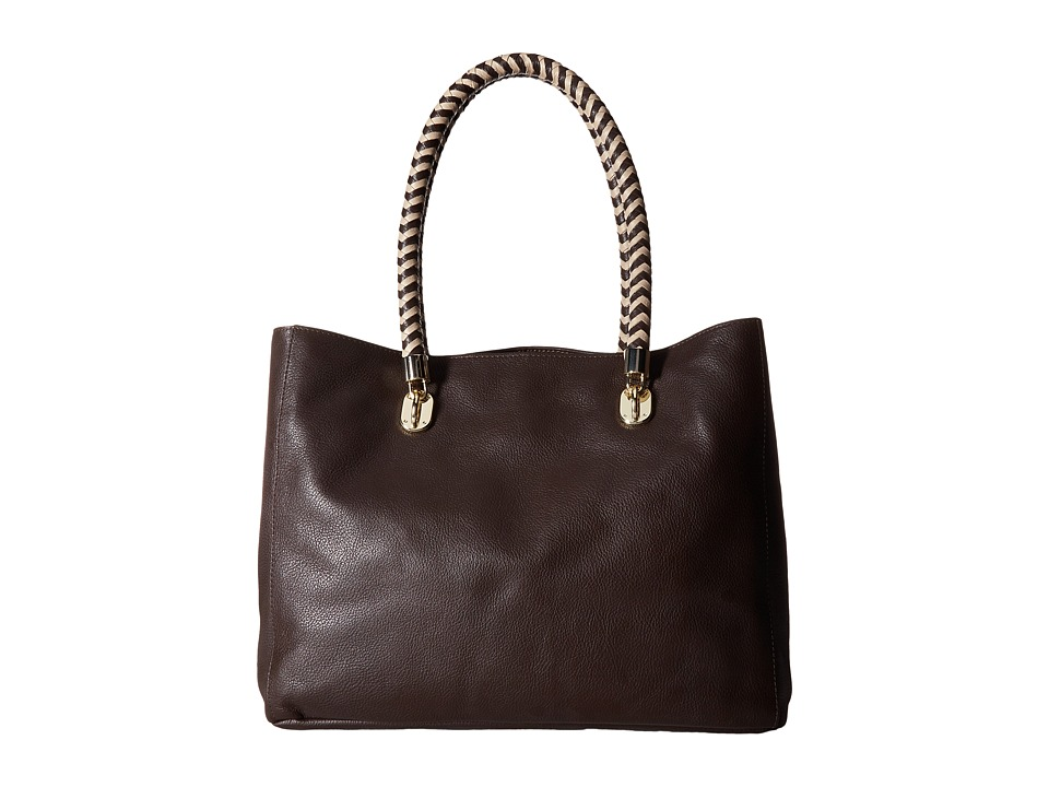 Cole Haan - Benson Pebble Large Tote (Dark Chocolate) Tote Handbags
