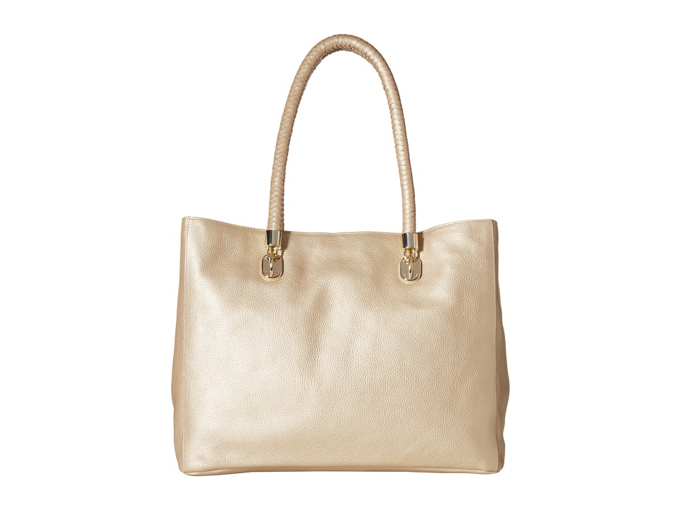 Cole Haan - Benson Pebble Large Tote (Soft Gold) Tote Handbags