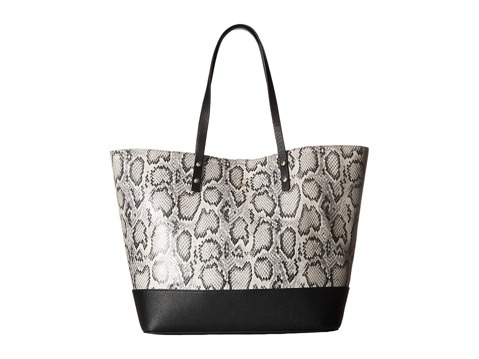 Cole Haan - Beckett Large Tote (Black/White Snake) Tote Handbags