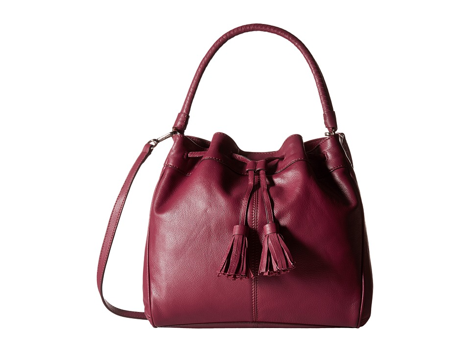 Cole Haan - Loveth Double Strap Hobo (Cabernet) Hobo Handbags