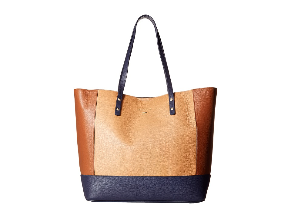 Cole Haan - Beckett Large Tote (Woodbury Color Block) Tote Handbags