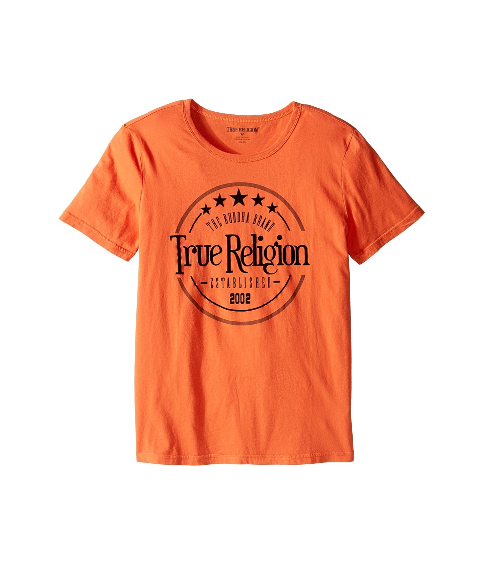 True Religion Kids - True Los Angeles T-Shirt (Big Kids) (Burnt Orange) Boy's T Shirt