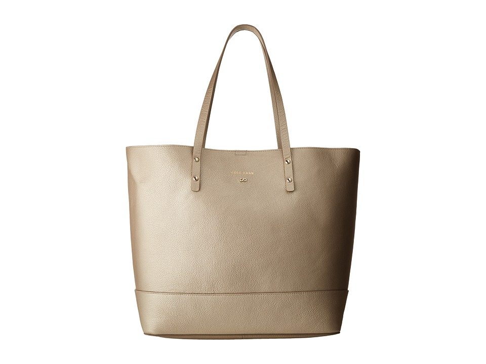 Cole Haan - Beckett Large Tote (Soft Gold) Tote Handbags