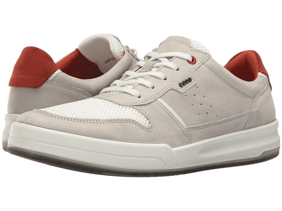 ECCO Jack Summer Sneaker (Wild Dove/White) Men