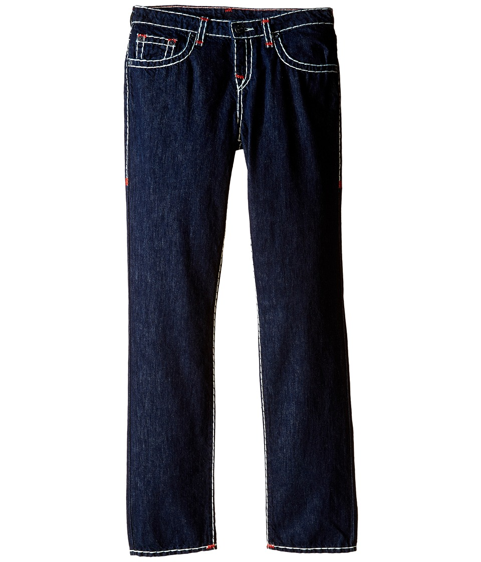 True Religion Kids - Geno Contrast Super T Jeans in Rinse (Big Kids) (Rinse) Boy's Jeans