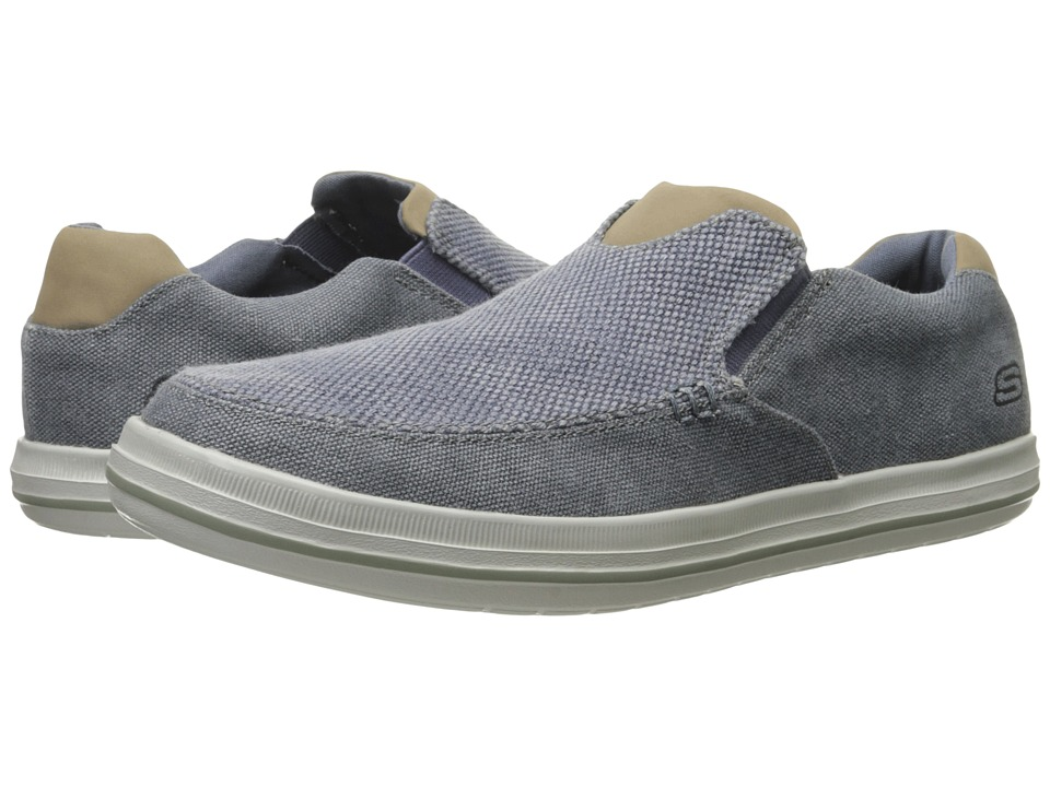 SKECHERS Relaxed Fit Define Gurgen (Blue) Men