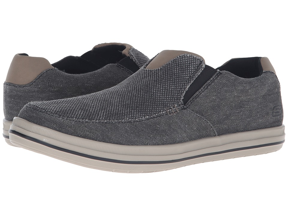 SKECHERS - Relaxed Fit Define - Gurgen (Charcoal) Men's Shoes