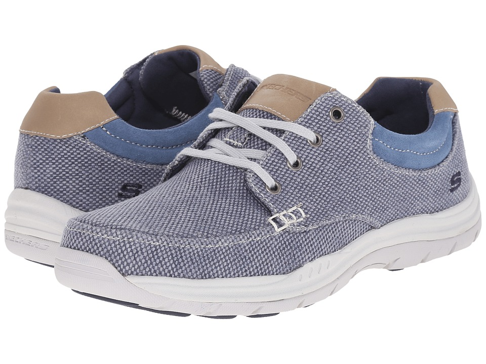 SKECHERS - Relaxed Fit Expected - Orman (Blue) Men's Shoes