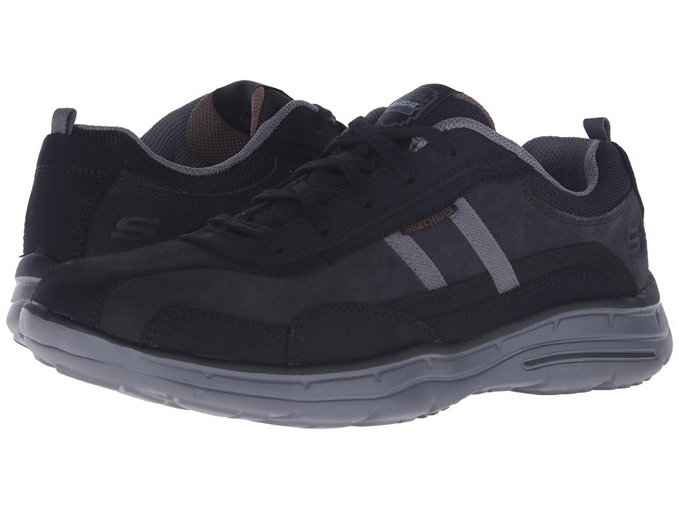 SKECHERS - Relaxed Fit Glides - Corsen (Black) Men