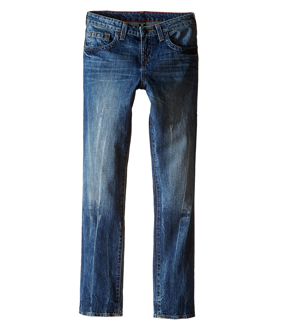 True Religion Kids - Fashion Geno Single End Jeans in Blue Book (Big Kids) (Blue Book) Boy's Jeans