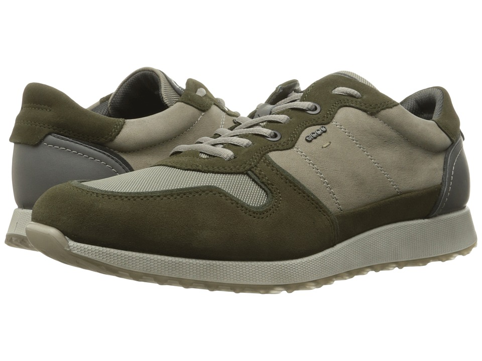 ECCO - Sneak Tie (Grape Leaf/Moon Rock) Men's Shoes
