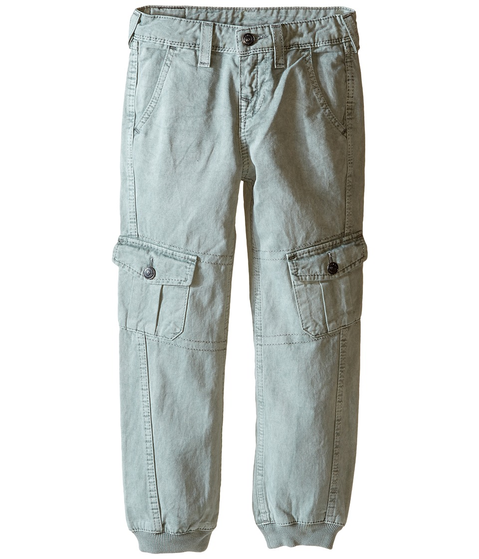 True Religion Kids - Cargo Runner Pants (Toddler/Little Kids) (Cement Grey) Boy's Casual Pants