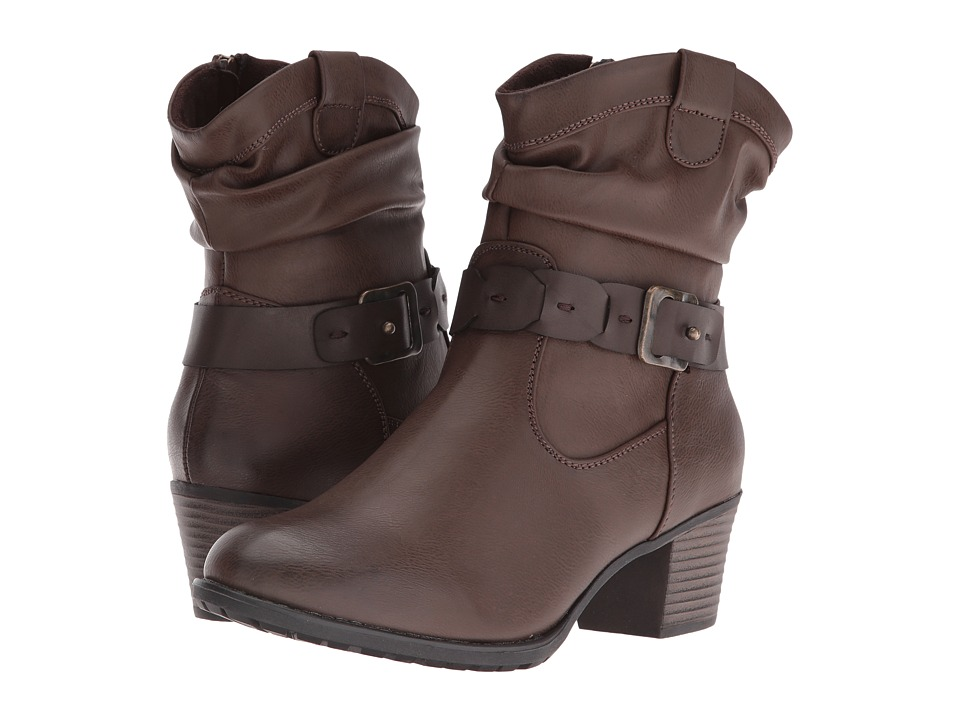 Spring Step - Biddy (Brown) Women's Lace-up Boots